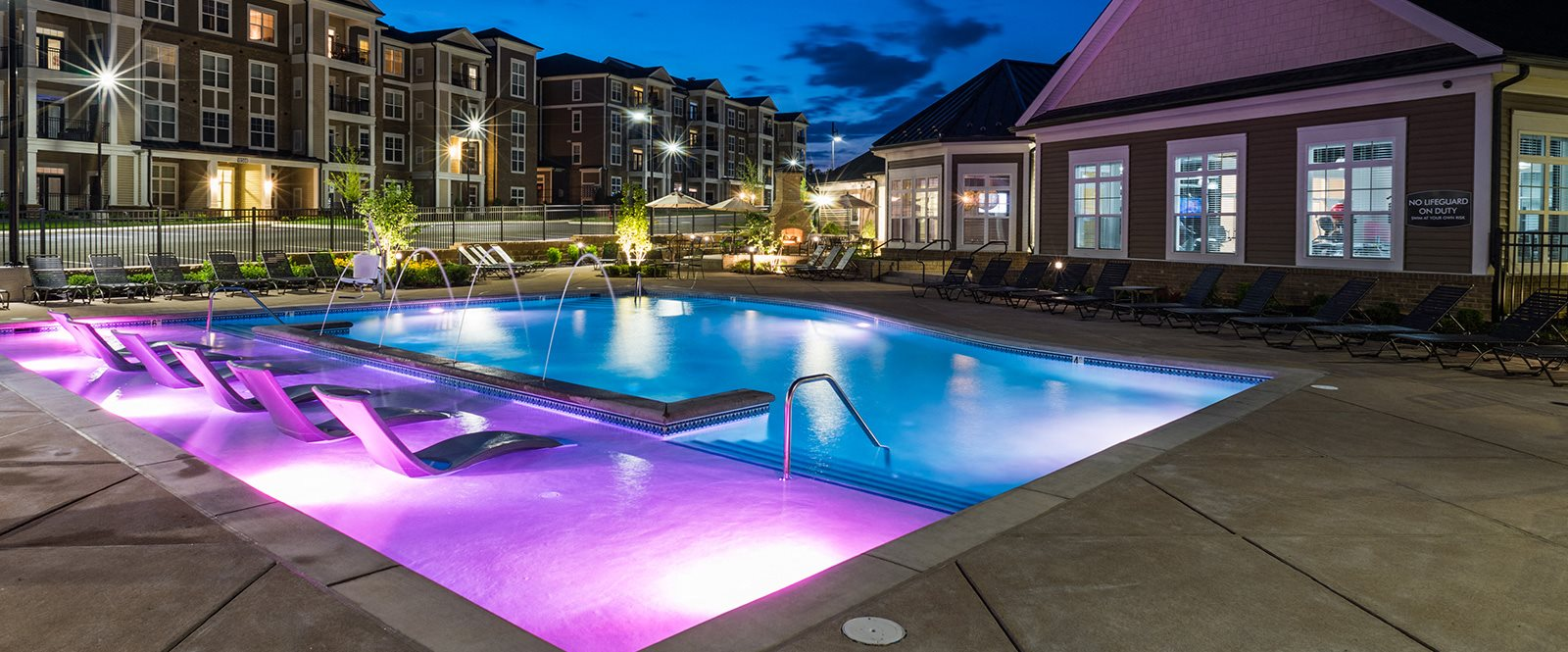 Sparkling Swimming Pool at Abberly at Southpoint Apartment Homes by HHHunt, Fredericksburg, 22407