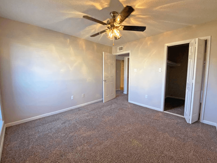 Bedroom at Pecan Grove Apartments