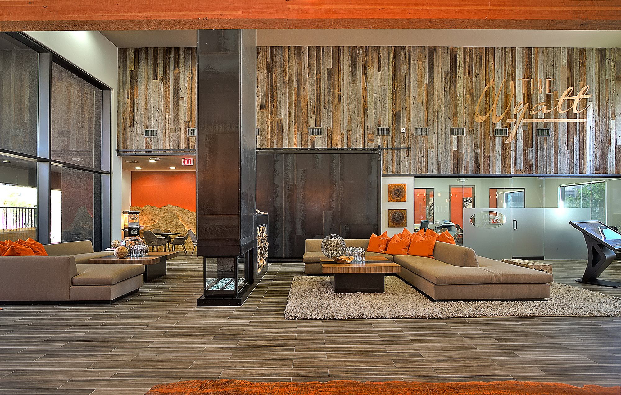 Modern Clubhouse at The Wyatt Apartments in Las Vegas, NV