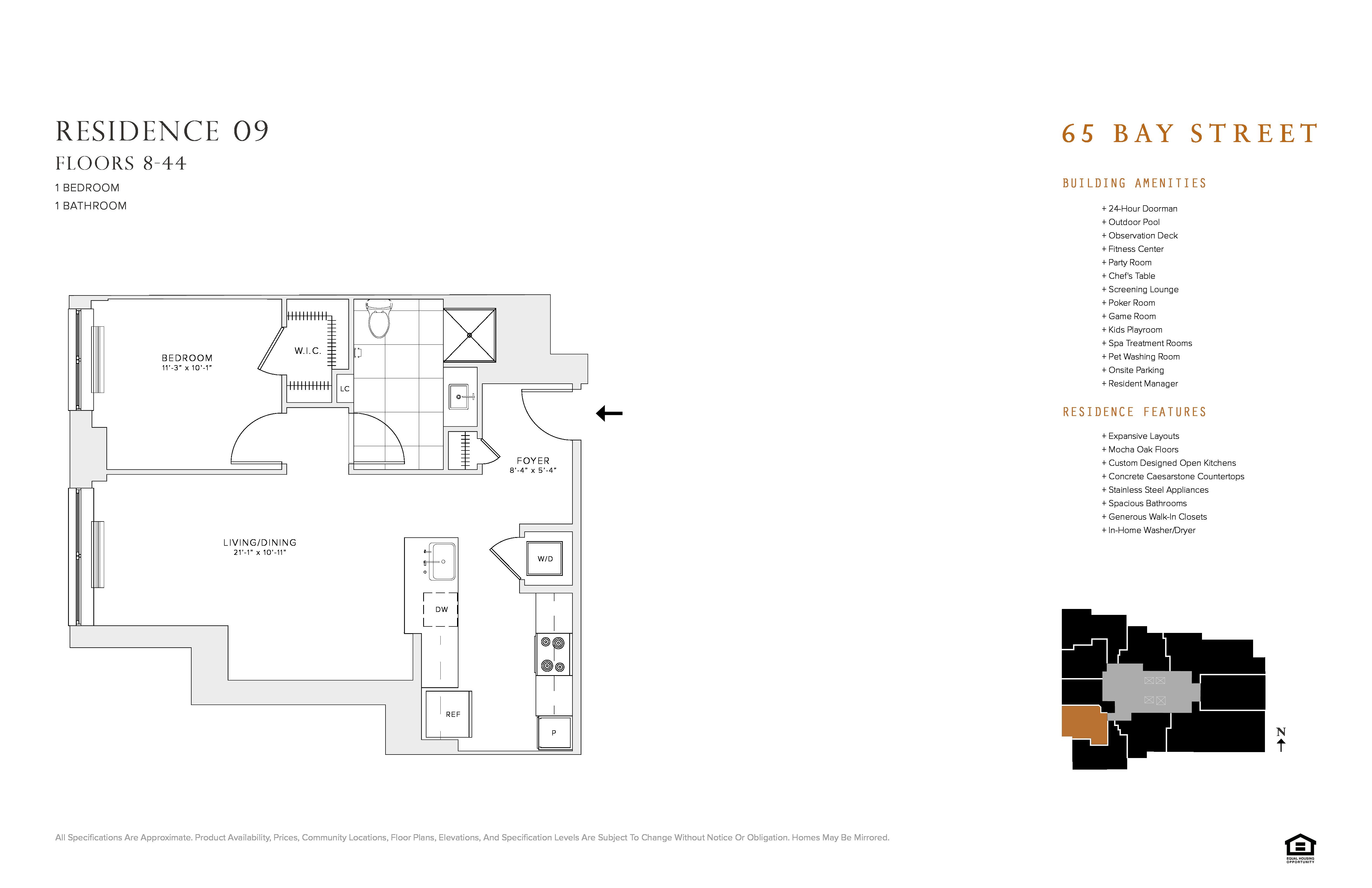 Floor Plans Of 65 Bay Street In Jersey City Nj
