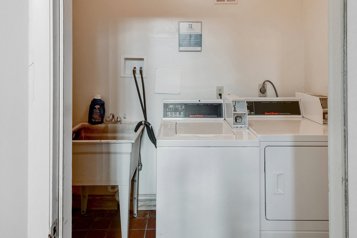 In Home Full Size Washer And Dryer at Heritage Hill Estates Apartments, Ohio, 45227
