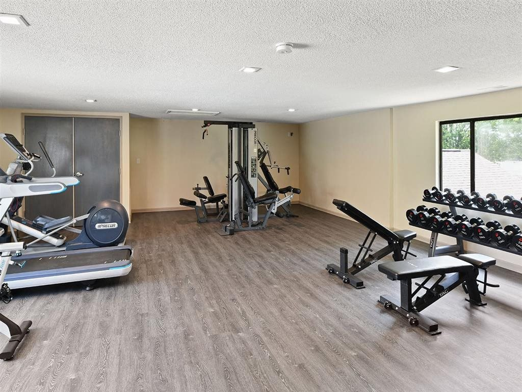 Upscale Fitness Center at Westpark Townhomes, Indianapolis, 46214