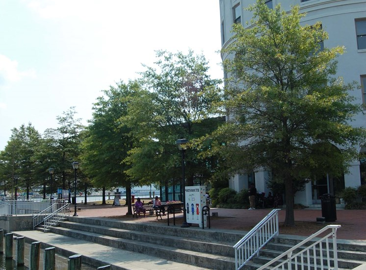 The Seaboard Building in Portsmouth VA