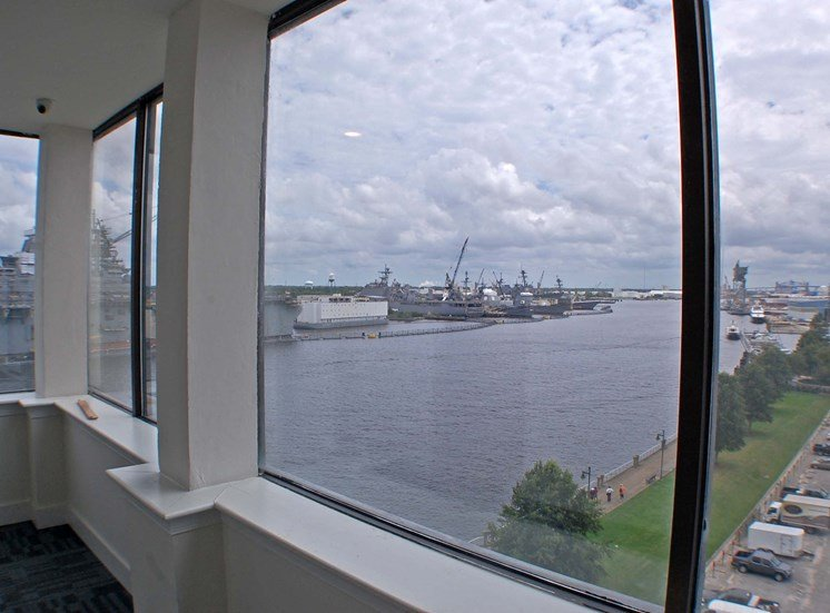 The Seaboard Building in Portsmouth VA view
