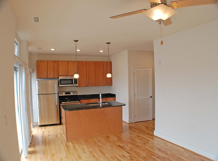 Kitchen at The Seaboard Building