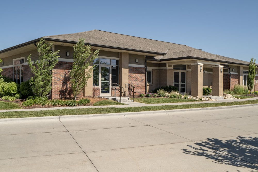 Community clubhouse for resident use at North Pointe Villas