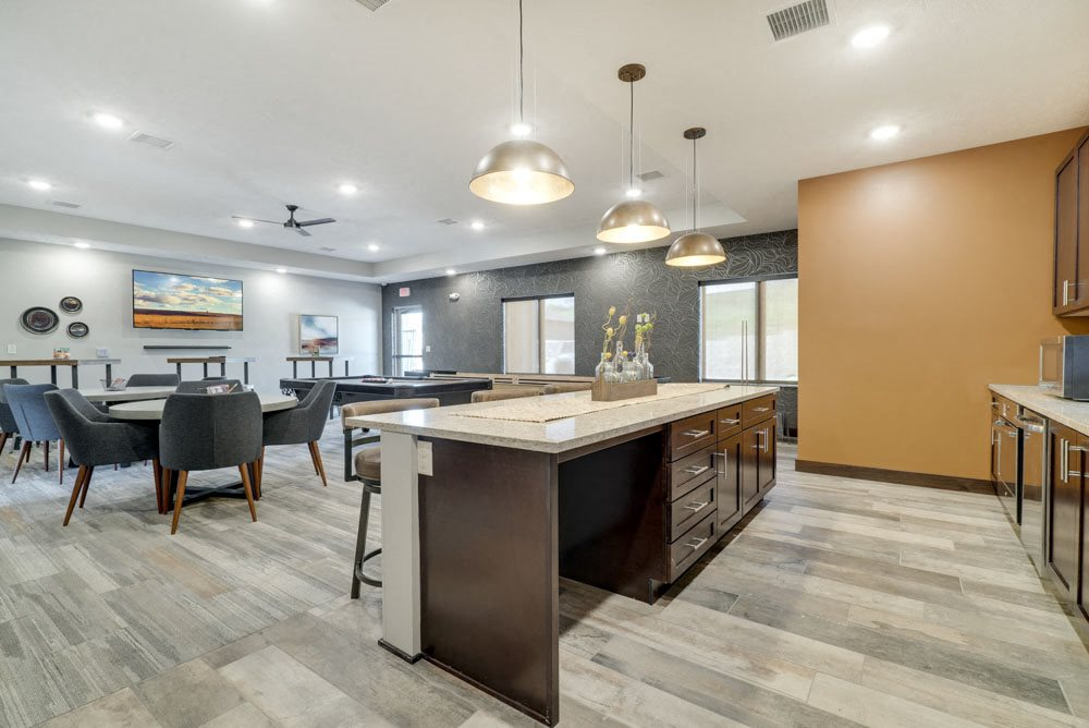 New west clubhouse at North Pointe Villas in north Lincoln NE