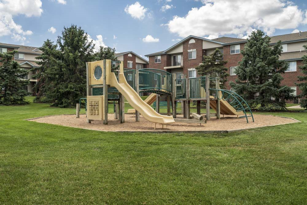 Playground at Northridge Heights Apartments in north Lincoln