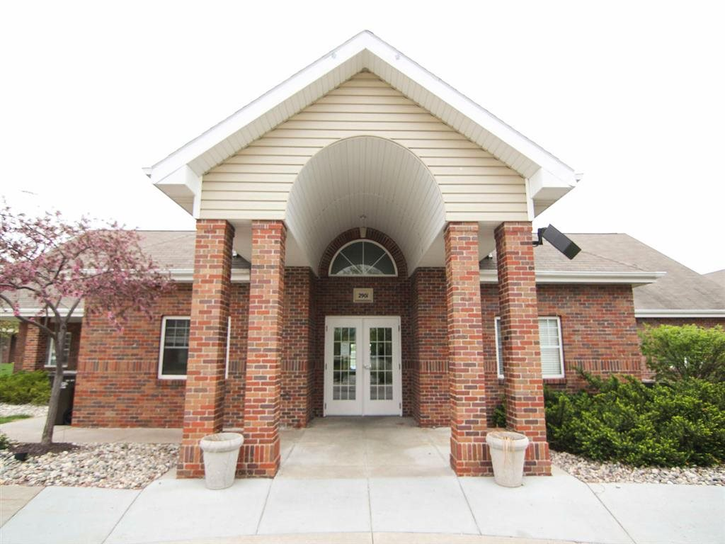 Community clubhouse at Northbrook Apartments in Lincoln, NE