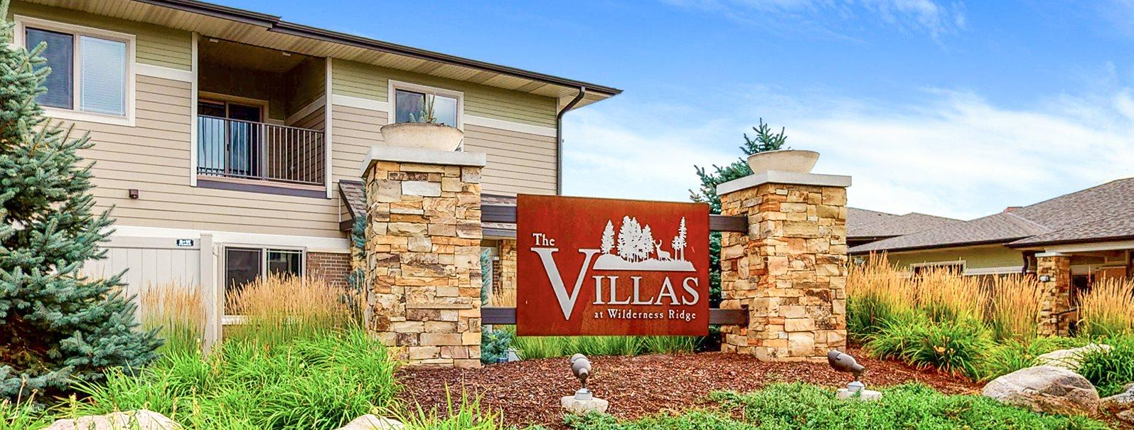 Welcome home to The Villas at Wilderness Ridge