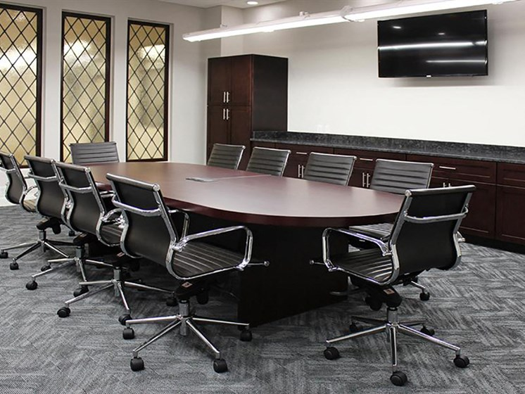 Building Amenities - Conference Room at Residences at Leader, Cleveland, OH