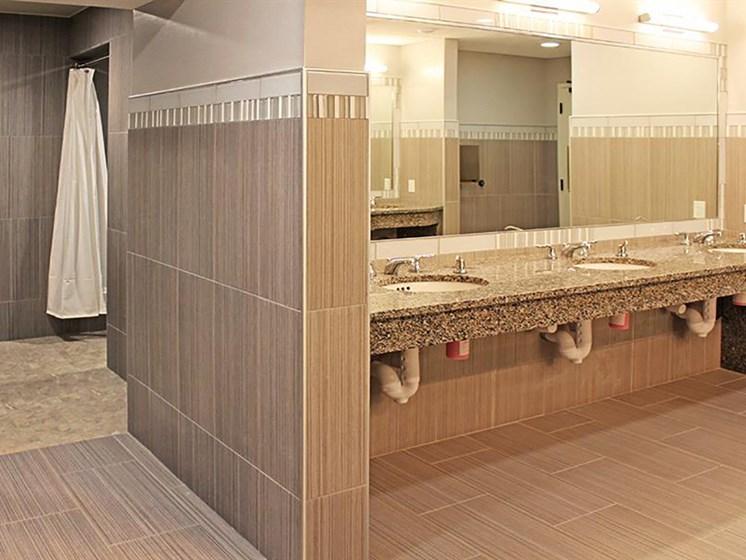 Building Amenities - Locker Room  at Residences at Leader, Ohio