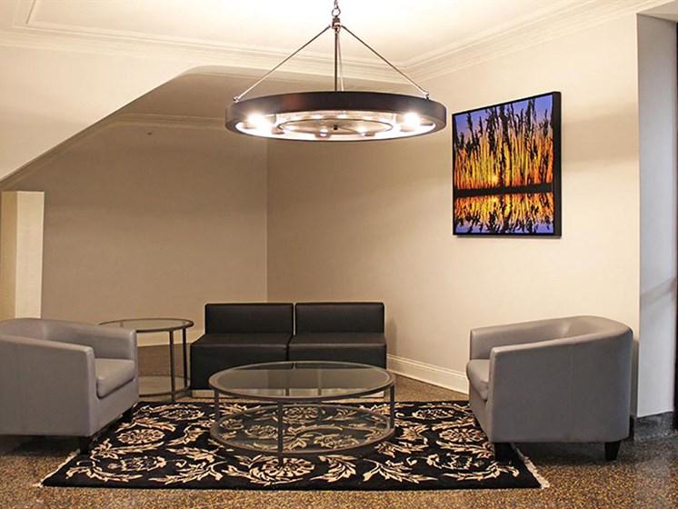 Sofa Set at Residences at Leader, Cleveland, OH