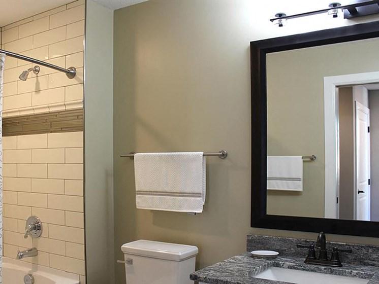 Style 09 Model - 2 Bedroom 2 Bathroom - Bathroom 2 at Residences at Leader, Cleveland