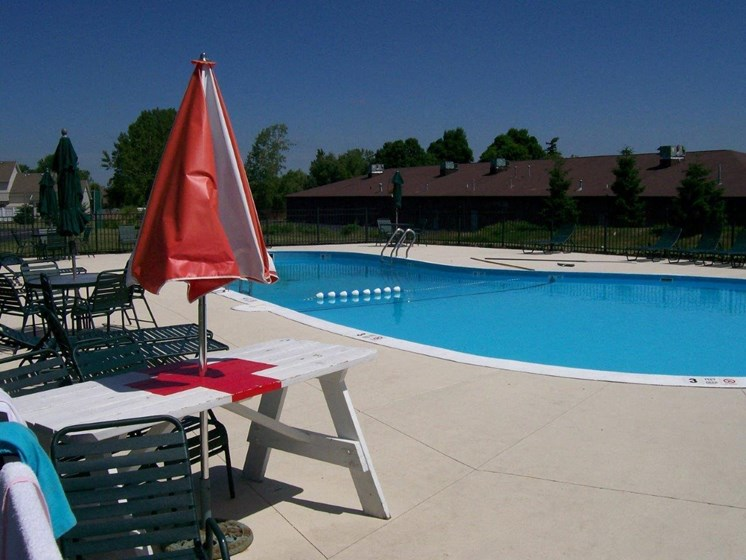 Beautiful Swimming Pool at Stone Hedge Village Townhouses, Farmington, NY
