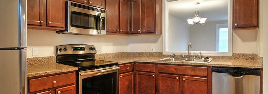 Spacious Kitchen at Georgetown Apartments, Williamsville, NY