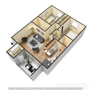 2 Bedroom Apartment at Sanctuary on 22nd, Phoenix