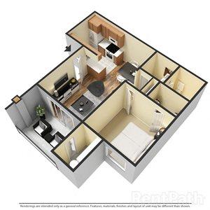 1 Bedroom Apartment at Sanctuary on 22nd, Arizona, 85021