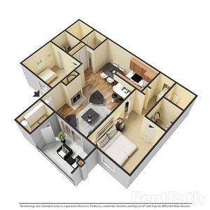 Spacious 2 Bedroom Apartment at Sanctuary on 22nd, Arizona, 85021