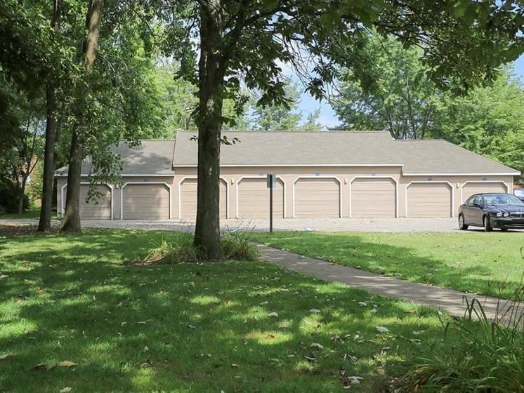 garages at Burwick Farms apartment Homes