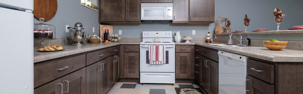 Kitchen in Southern Pointe Apartments