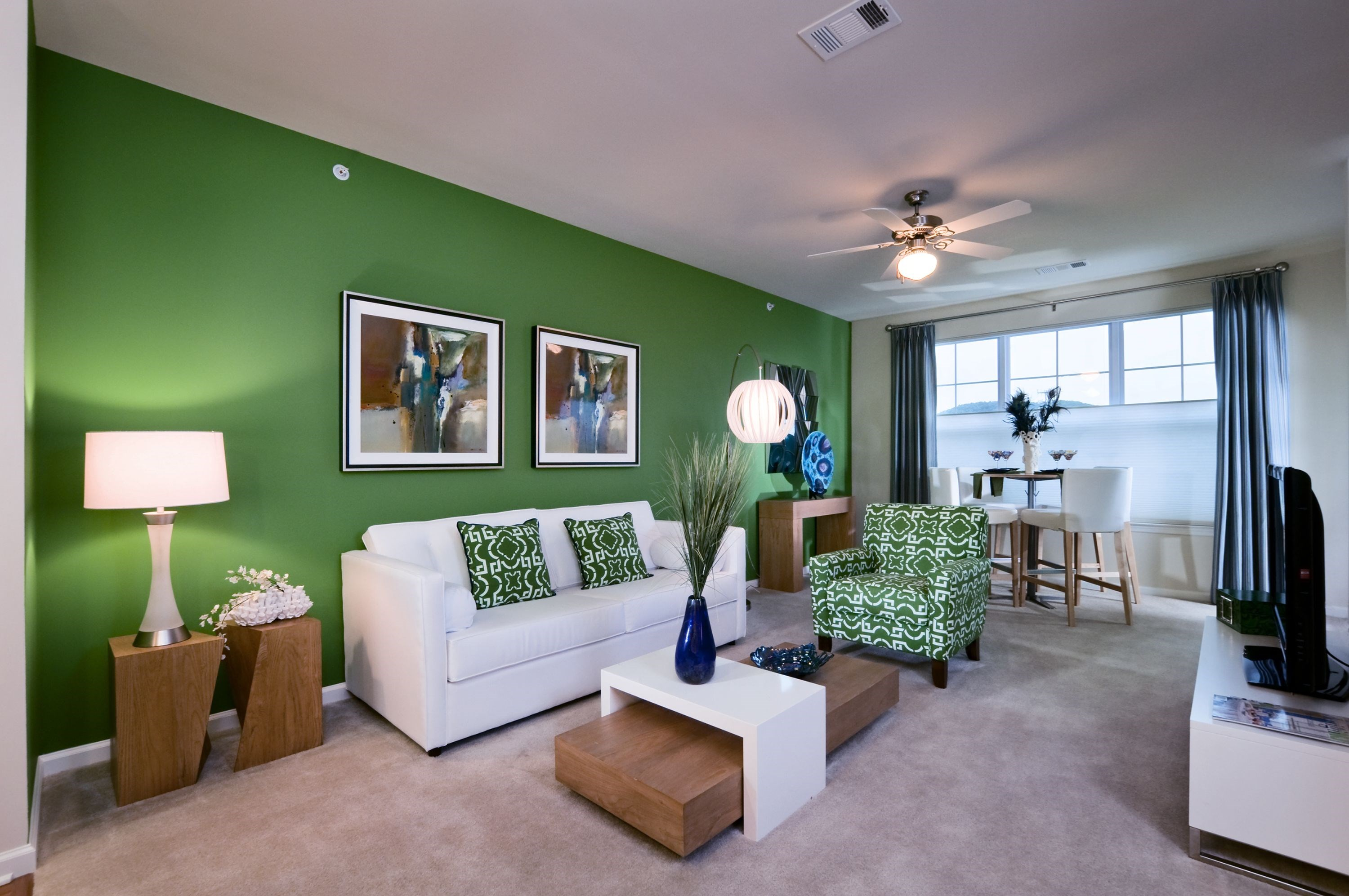 Living Room at The Reserve at Riverdale Apartments in Riverdale, NJ