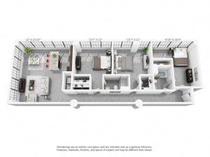 3 bedroom luxury apartment home in Winston Salem