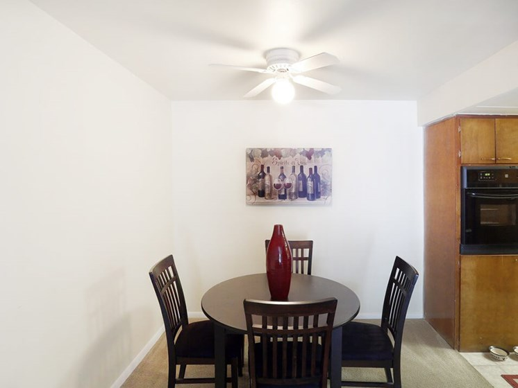 Dining Area at Brookwood Apartments