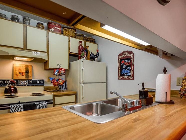 spacious kitchen in Lenexa KS