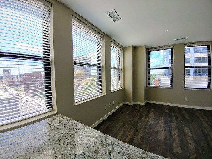 Spacious Living Area at Studebaker Lofts, South Bend, IN, 46601
