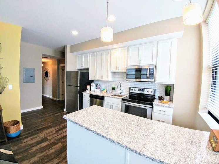 Kitchen Unit at Studebaker Lofts, South Bend, IN, 46601