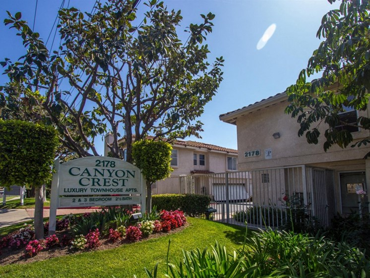 Front of Property - Canyon Crest Townhomes