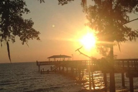 May Day Park & Pier only minutes from Arbors By The Bay Apartment Homes Daphne AL 36526