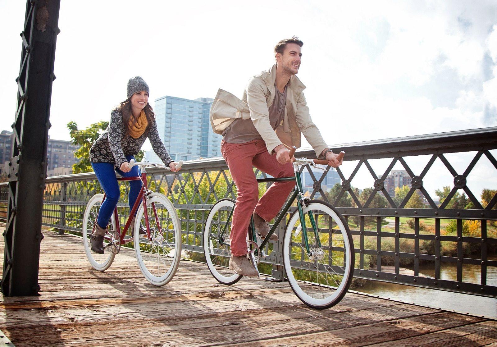 Bike Lockers and Racks at Touchstone Modern Apartment Homes, 11996 Ridge Parkway, Broomfield, CO 80021