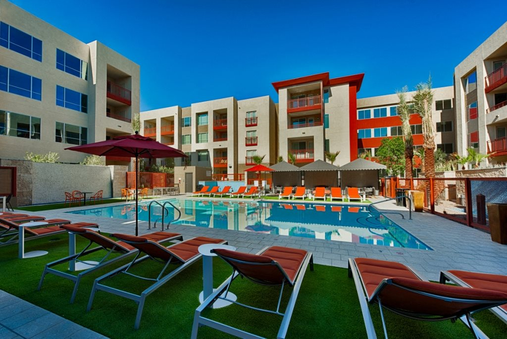 Resort like pool