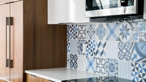 Kitchen Cabinets at Fourteen56, Detroit, Michigan