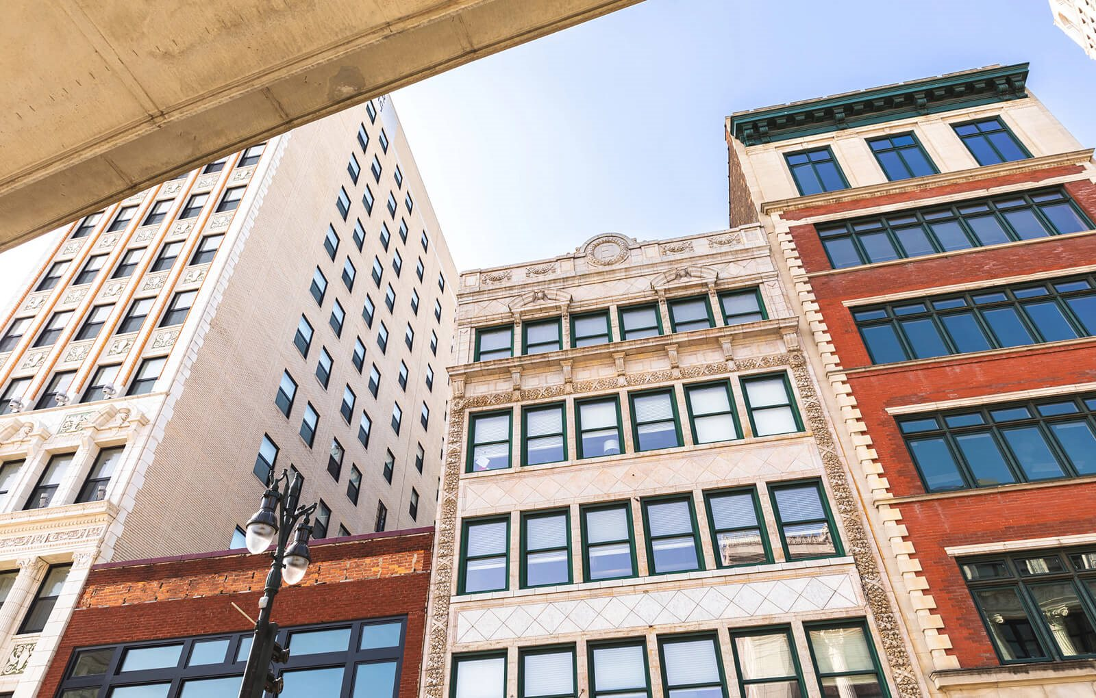 Full Exterior View at 1525 Broadway, Detroit, 48226
