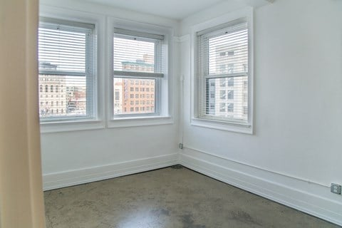 Beautiful Bright Bedroom With Wide Windows at 1525 Broadway, Detroit, MI, 48226