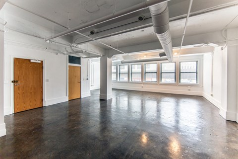 Spacious Living Space at 1525 Broadway, Detroit, 48226