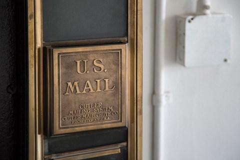 Mail- Box at 1525 Broadway, Michigan, 48226
