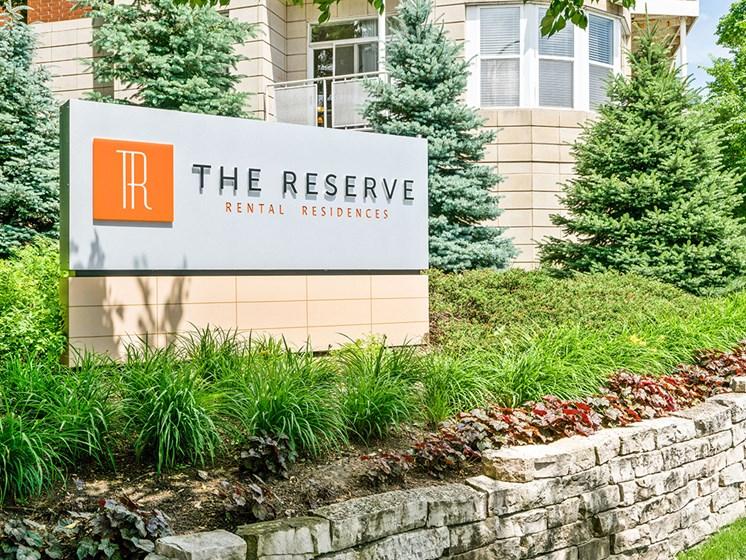 The Reserve sign evanston