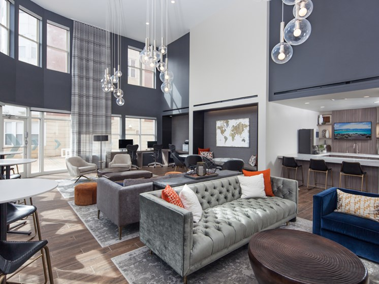 Amenity lounge evanston