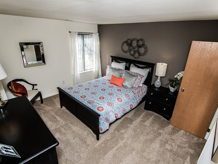 Huge and Airy Bedroom at Park Lane Apartments, Southfield, MI 48033