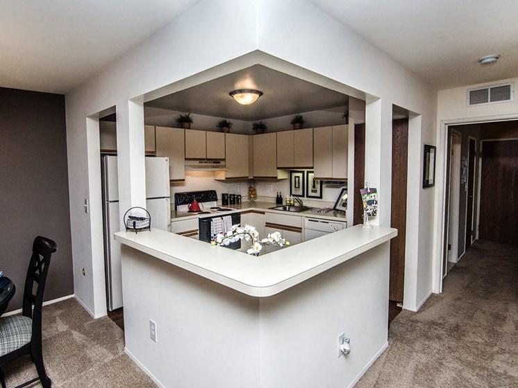 Spacious Kitchen at Park Lane Apartments, 23344 Park Place Drive