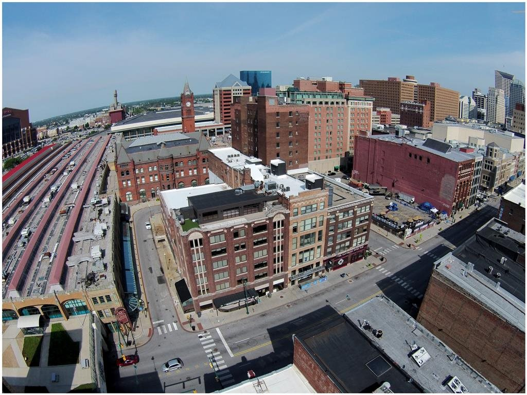 Aerial View Of Property Amenities at Buckingham Urban Living, Indianapolis, IN, 46204