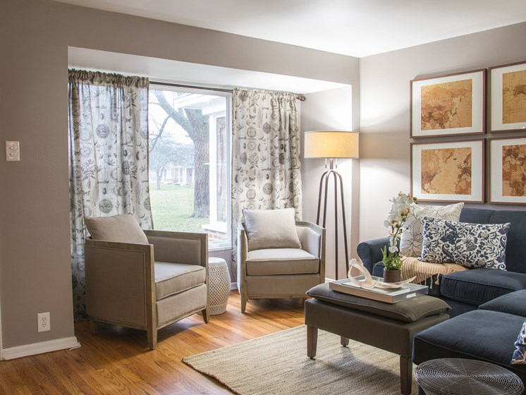 Living Room Pangea Park Townhomes