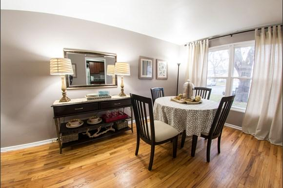 Dining Room Pangea Park Townhomes