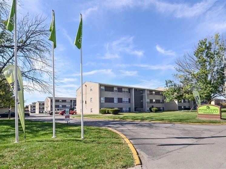 Pangea Courts Apartments Indianapolis Exterior