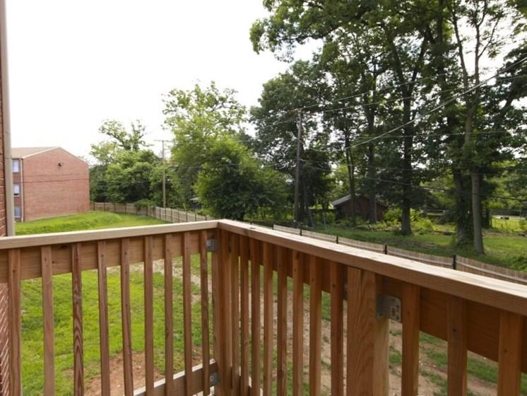Apartments at Pangea Oaks include a balcony or patio!