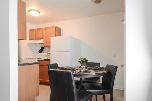 Find spacious kitchens in the available apartments at Pangea Parkwest.